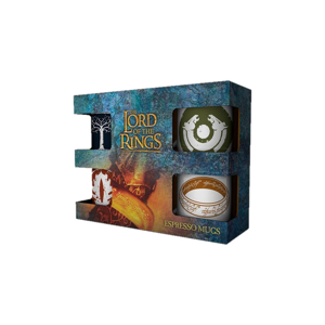 Espresso set 4 hrnků - Lord of the Rings - Symbols