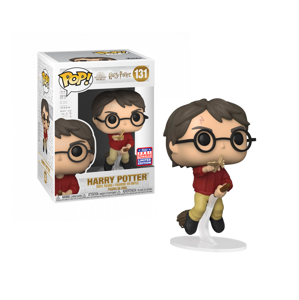 Funko POP! #131 HP: HP Anniversary- Harry flying w/winged key (SDCC EXC)