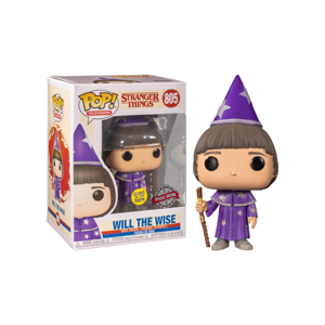 Funko POP! #805 TV: Stranger Things - Will the Wise (Special Edition) (GITD)