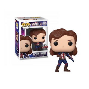 Funko POP! #875 Marvel What If - Captain Carter (Special Edition)