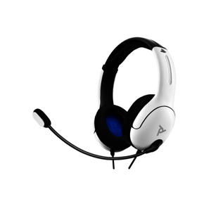 PDP Wired Stereo Gaming Headset LVL40 White