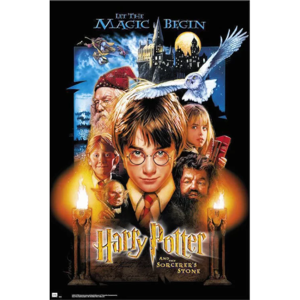 Plakát Harry Potter And The Sorcerers Stone 026