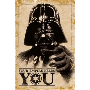 Plakát Star Wars - Your Empire Needs You 054