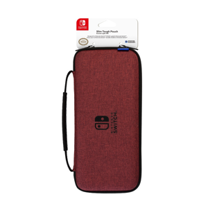 Slim Tough Pouch for Nintendo Switch OLED (Red)