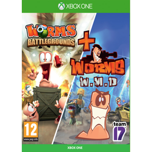 Worms Battlegrounds + Worms W.M.D (Xbox One)